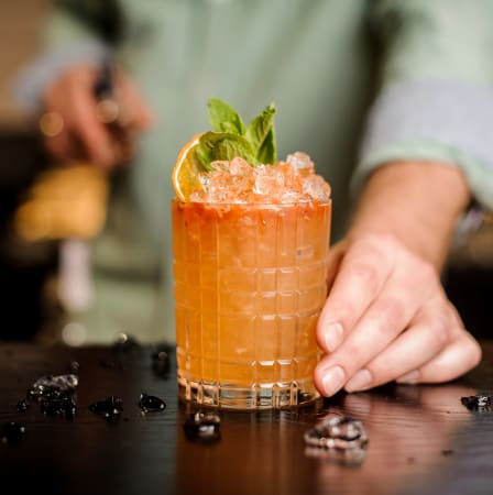Food and drinks near The Fuse at Park Row in Houston, Texas