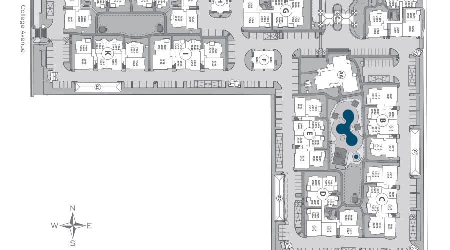 San Marquis site plan