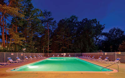 Swimming pool at Parkway Apartments