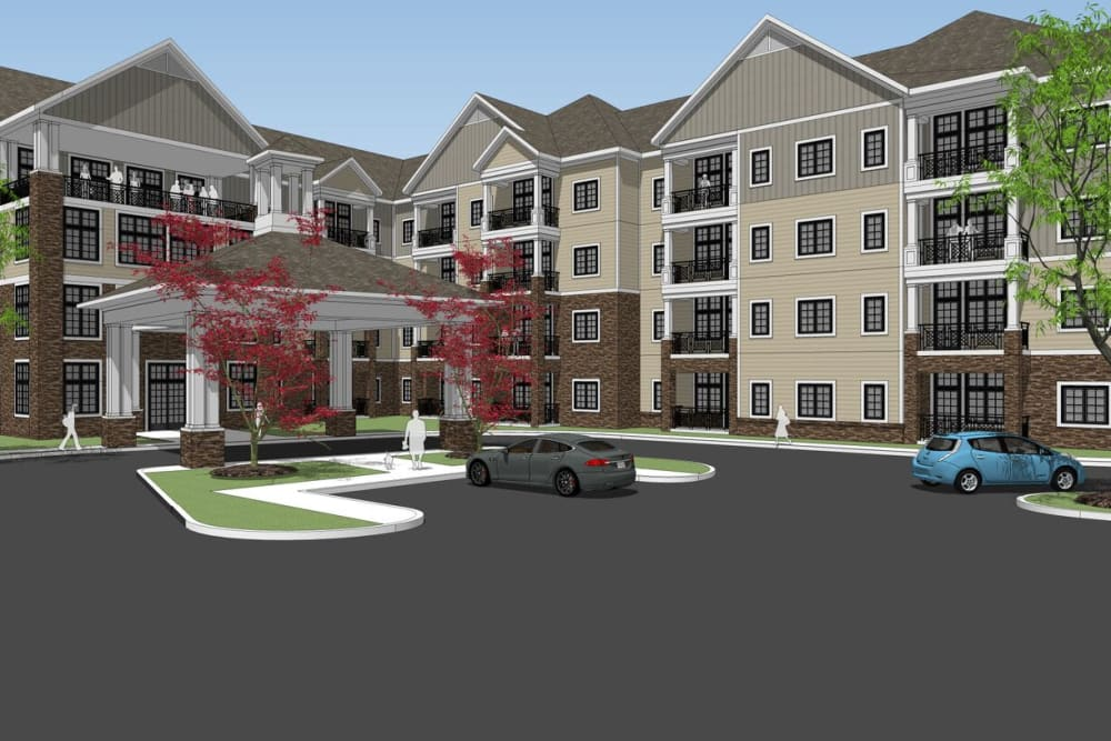 Future Harmony senior living community - Harmony at Brookberry Farm