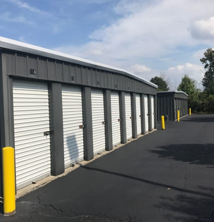Photo of storage units at Green Meadows Self Storage