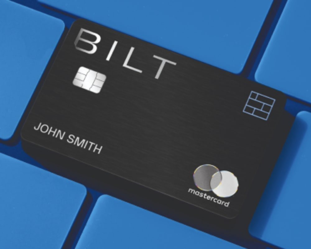 Bilt Mastercard Rewards Program offered at Olympus Stone Glen