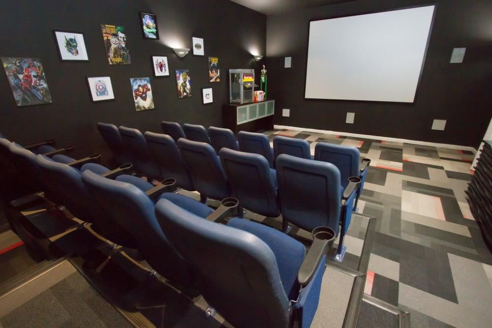movie theater at Veranda in Texas City, Texas