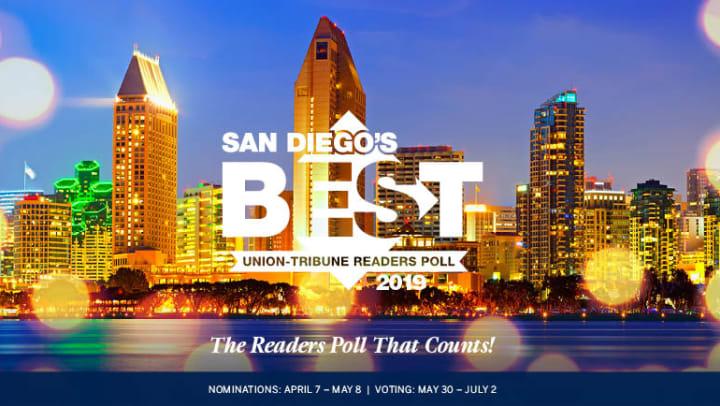Union Tribune - Best Of 2019