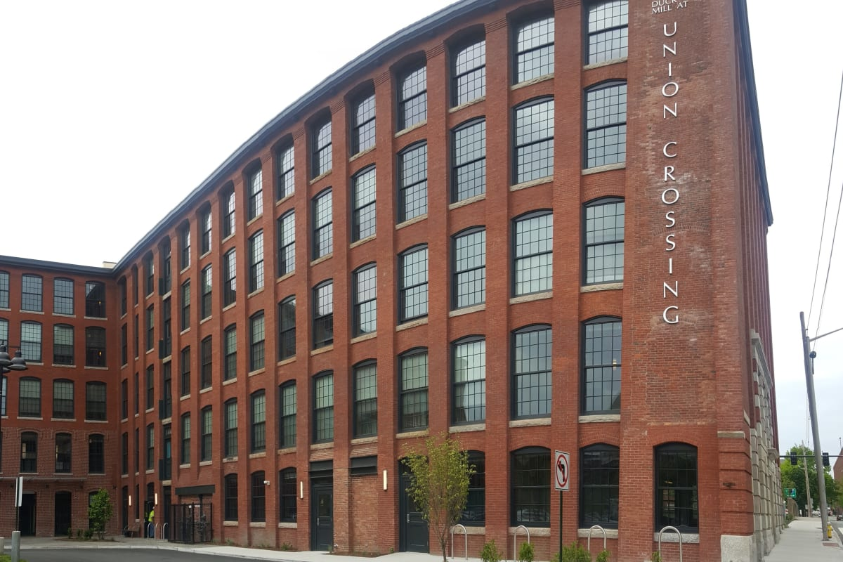 View our Duck Mill properties at Lawrence CommunityWorks Apartments in Lawrence, Massachusetts