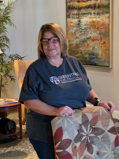 Valeria Harmon, Life Enrichment Coordinator of GreenTree at Mt. Vernon in Mt. Vernon, Illinois