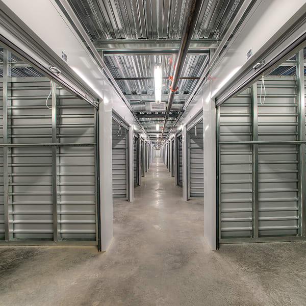 Open indoor units at StorQuest Self Storage in Phoenix, Arizona