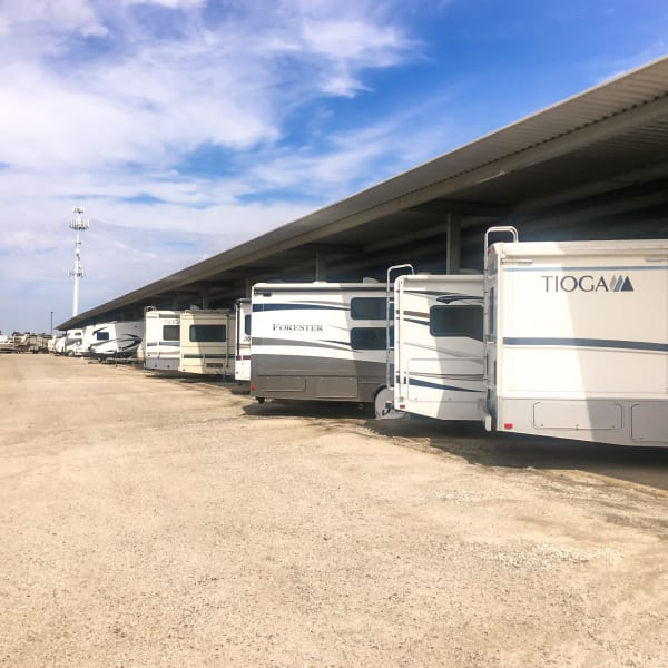 RV spaces at StorQuest Self Storage in Redwood City, California