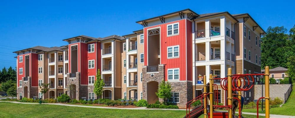 Playground at Integra Hills Preserve Apartments in Ooltewah, Tennessee