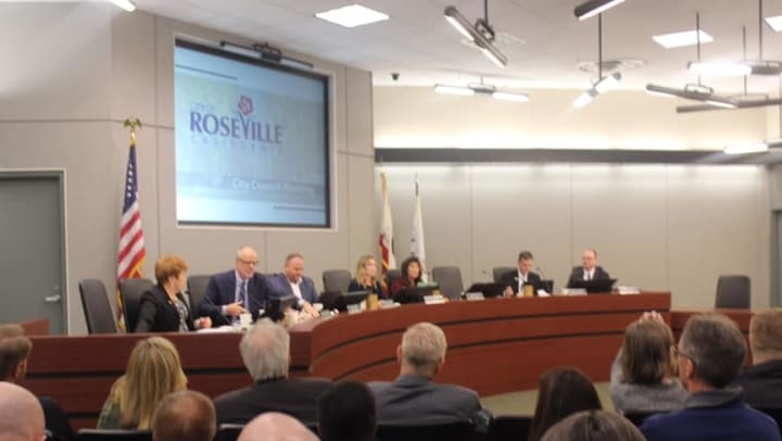 Roseville California Leadership Change