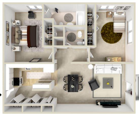 Floor Plans at Village Green Apartments in Baldwinsville