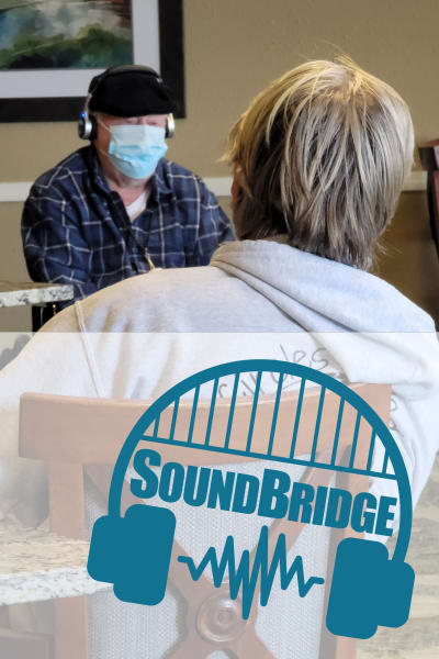 SoundBridge at Willow Creek Memory Care at Lee's Summit creates Aha! Moments for residents every day.