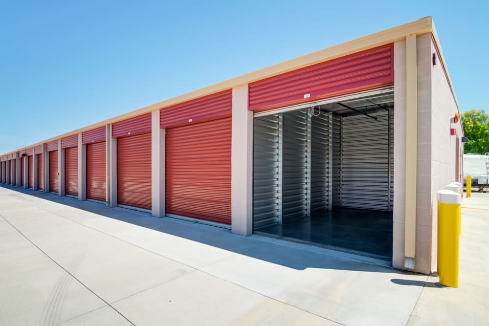Spacious drive up units at Butterfield Ranch Self Storage