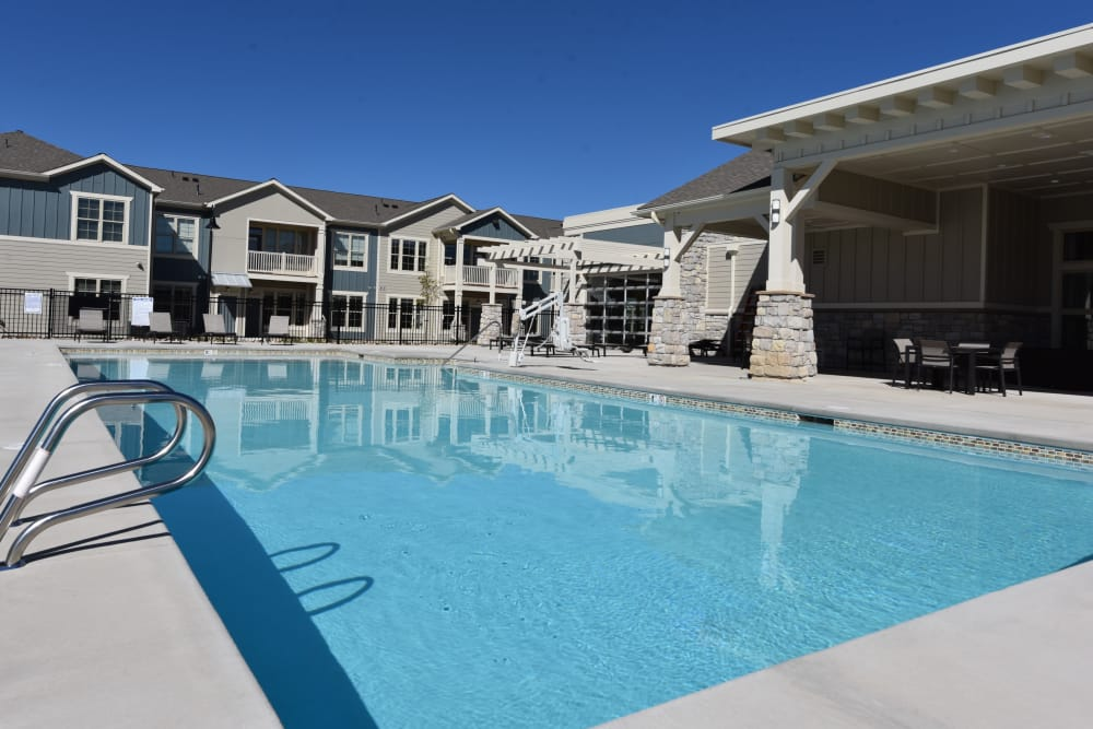 Pool at Springs at Sandstone Ranch in Longmont