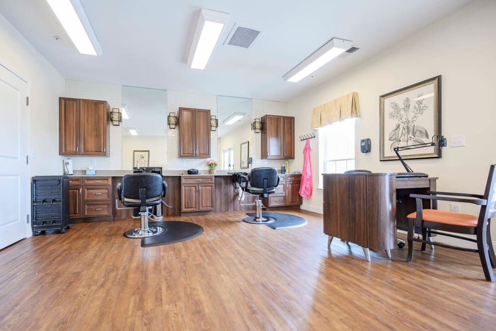 Salon at Harmony at Victory Station in Murfreesboro, Tennessee