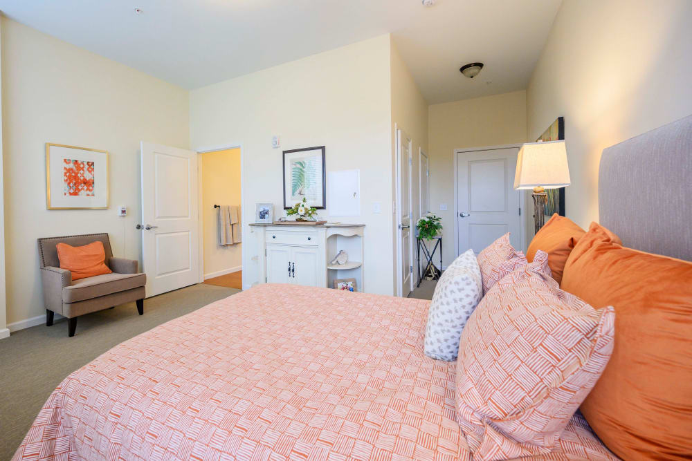 Bedroom at Harmony at Brentwood in Brentwood, Tennessee