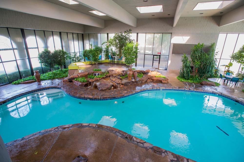 Sunchase Apartments pool in Tulsa, Oklahoma