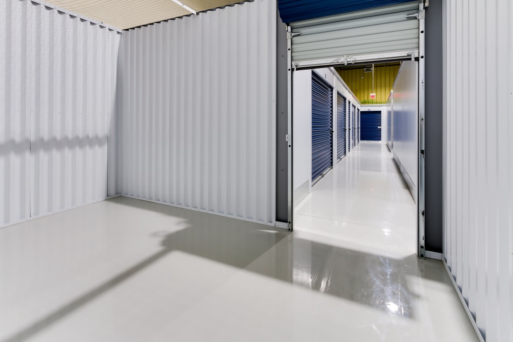 CityBox Storage features interior storage units in Calgary, Alberta