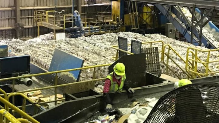 Trash Processing Plant