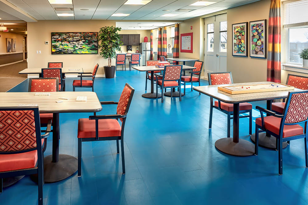 resident dining area