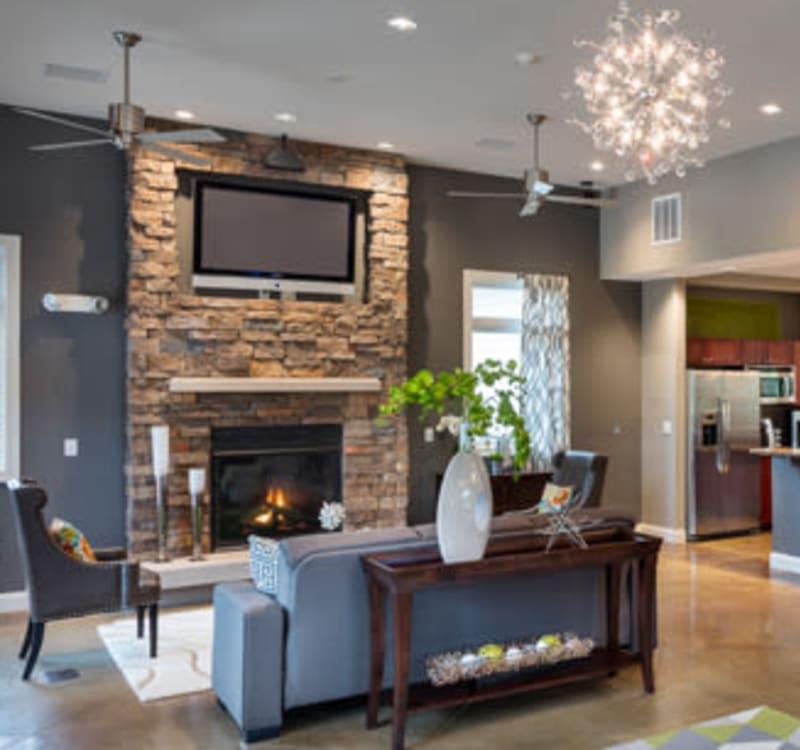 Designer kitchen at The Fairways Apartment Homes in Lee's Summit, Missouri