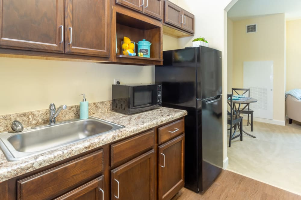 Kitchen at The Harmony Collection at Roanoke - Assisted Living in Roanoke, Virginia
