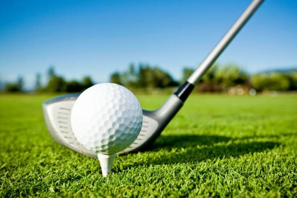Golf court at Audubon Oaks in Lakeland, Florida