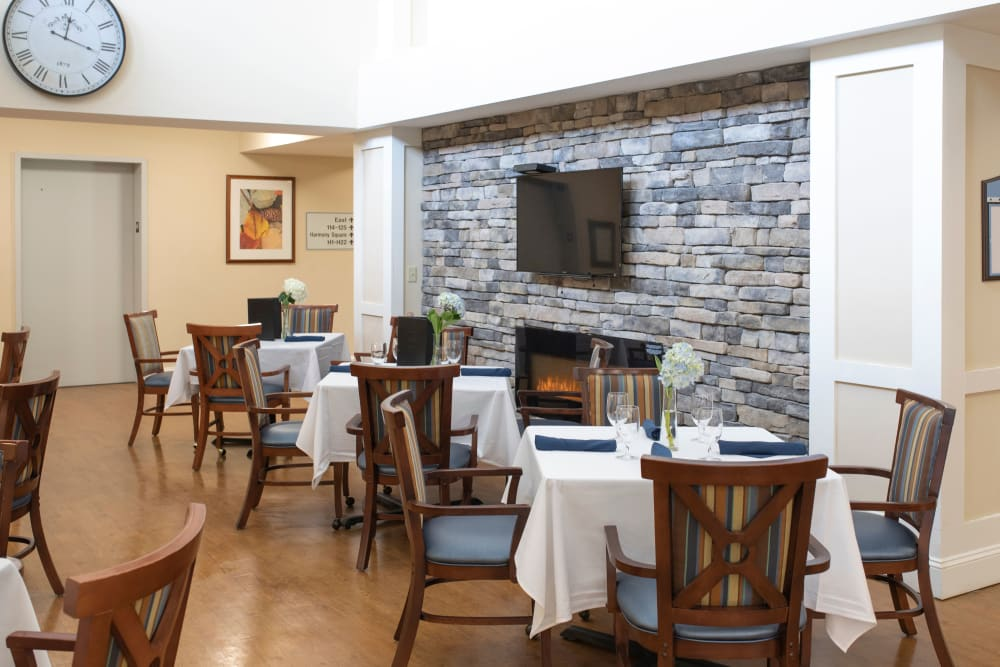 Dining at The Harmony Collection at Columbia in Columbia, South Carolina