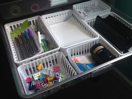 Storage bins/drawers