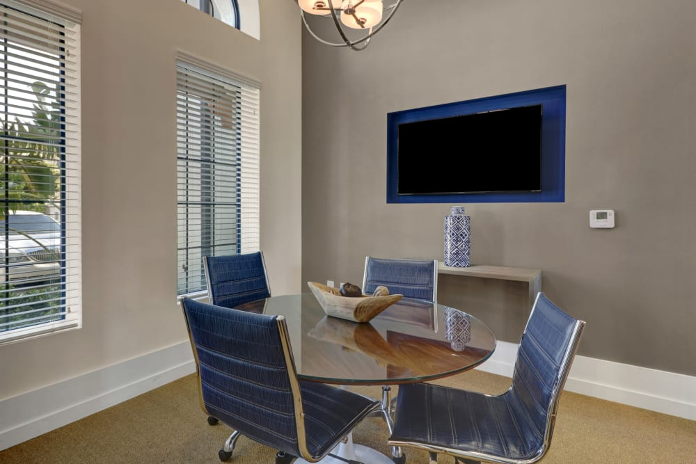 Conference Room at Linden Pointe in Pompano Beach, Florida