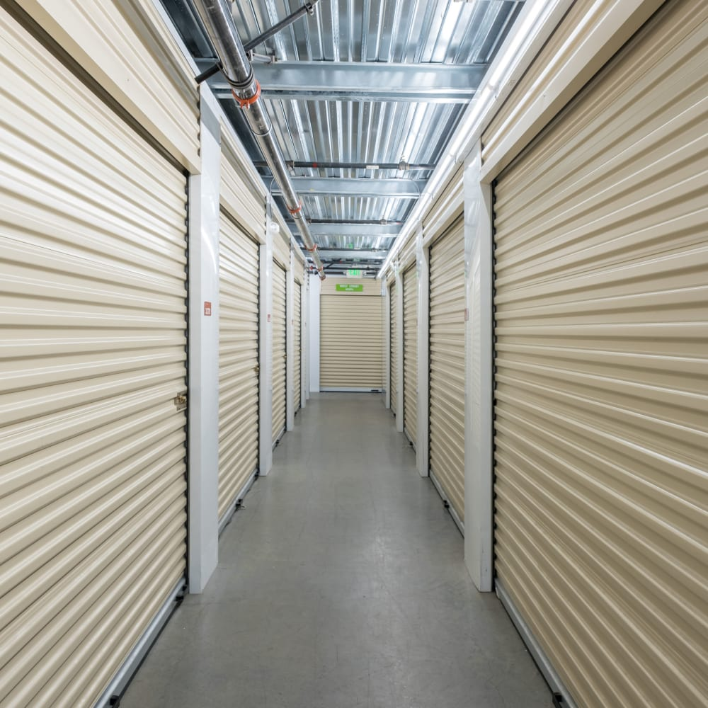 Self storage units for rent at Cubes Self Storage in Kirkland, Washington