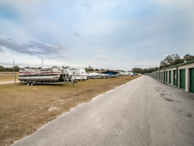 Neighborhood Storage offers boat storage