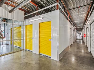 Interior storage units at Storage Star Cheyenne in Cheyenne, Wyoming