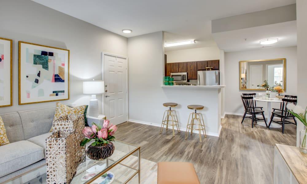 Living Room at Arya Grove in Universal City, Texas