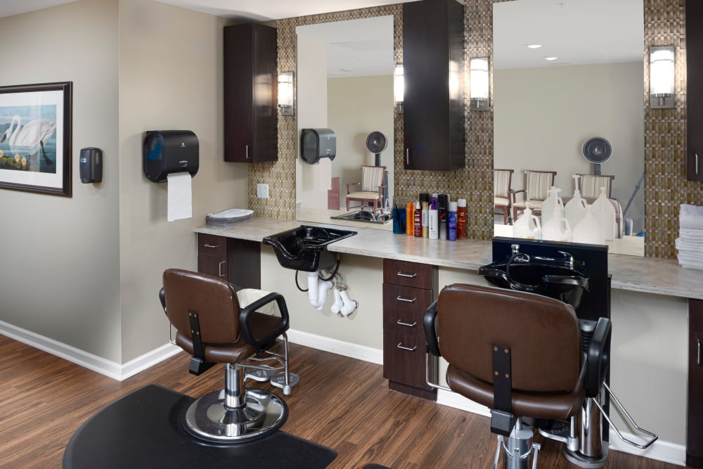 Salon at Harmony at Spring Hill in Lorton, Virginia