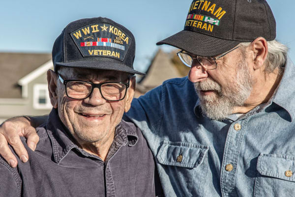 Veterans are respected at Oakleaf Village At Greenville