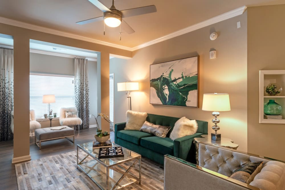 Spacious Living Room at Lullwater at Blair Stone in Tallahassee, Florida