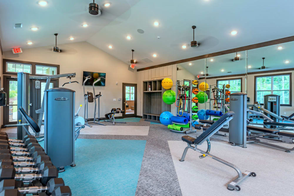 Fitness Center at Lullwater at Blair Stone in Tallahassee, Florida