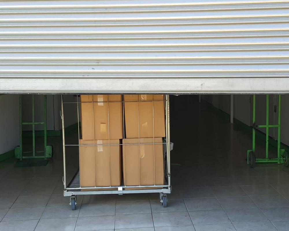 Storage unit at A3 Storage Centers in Midland, Texas