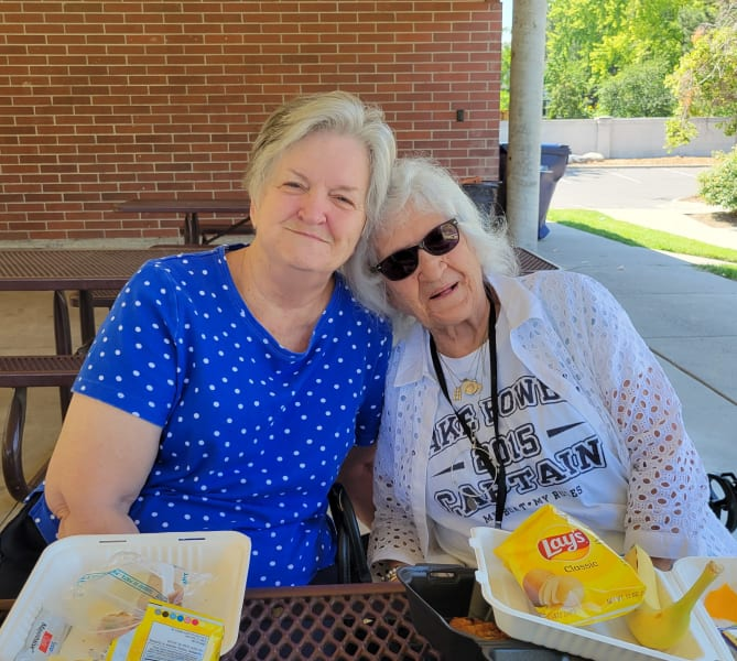 Cottonwood Heights (UT) residents enjoying their time out at the park.