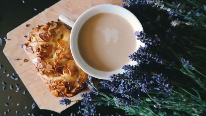 Coffee and pastries at Brew Street Bakery near Anatole on Briarwood in Midland, Texas