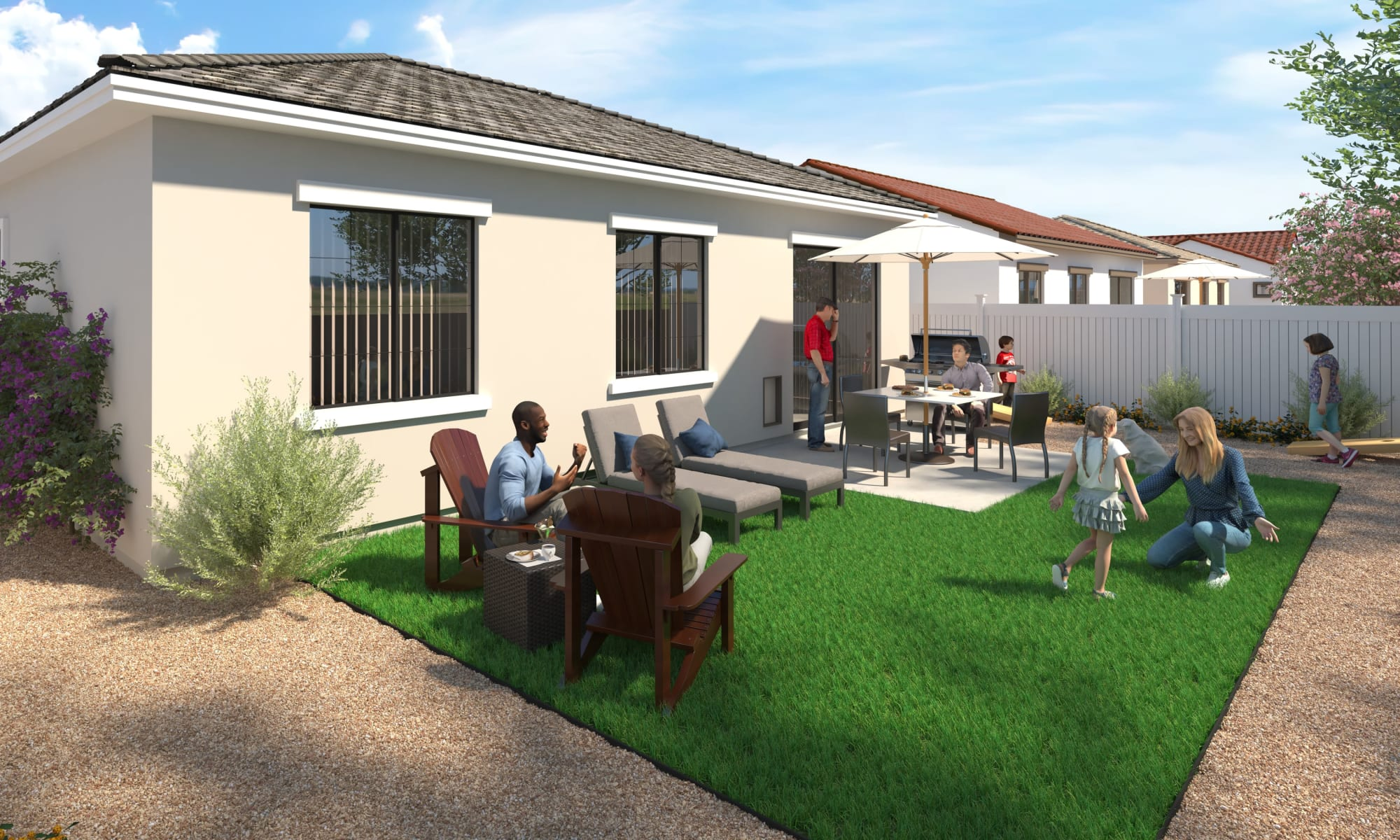 Luxury rental homes at Tavalo at Cadence in Mesa, Arizona