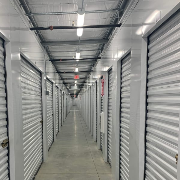 Indoor storage units at StorQuest Express - Self Service Storage in West Sacramento, California