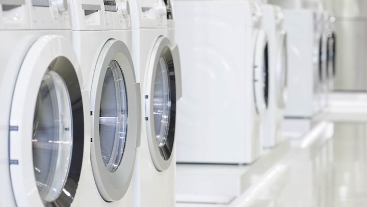 Washer and Dryer prep