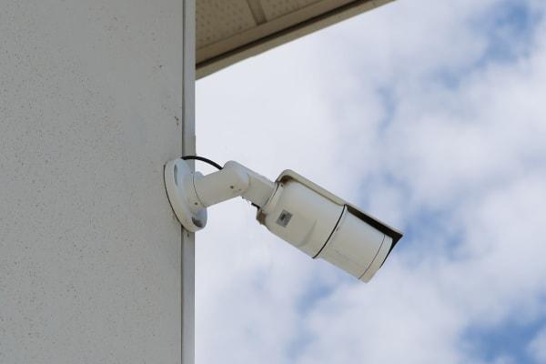 Security camera at Midgard Self Storage in Melbourne, Florida