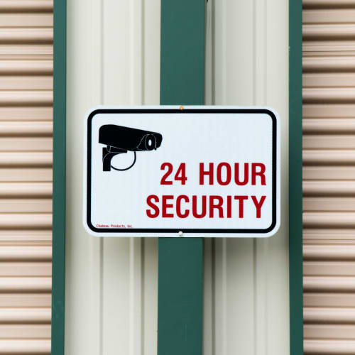 24 hour security at Red Dot Storage in Cedar Falls, Iowa