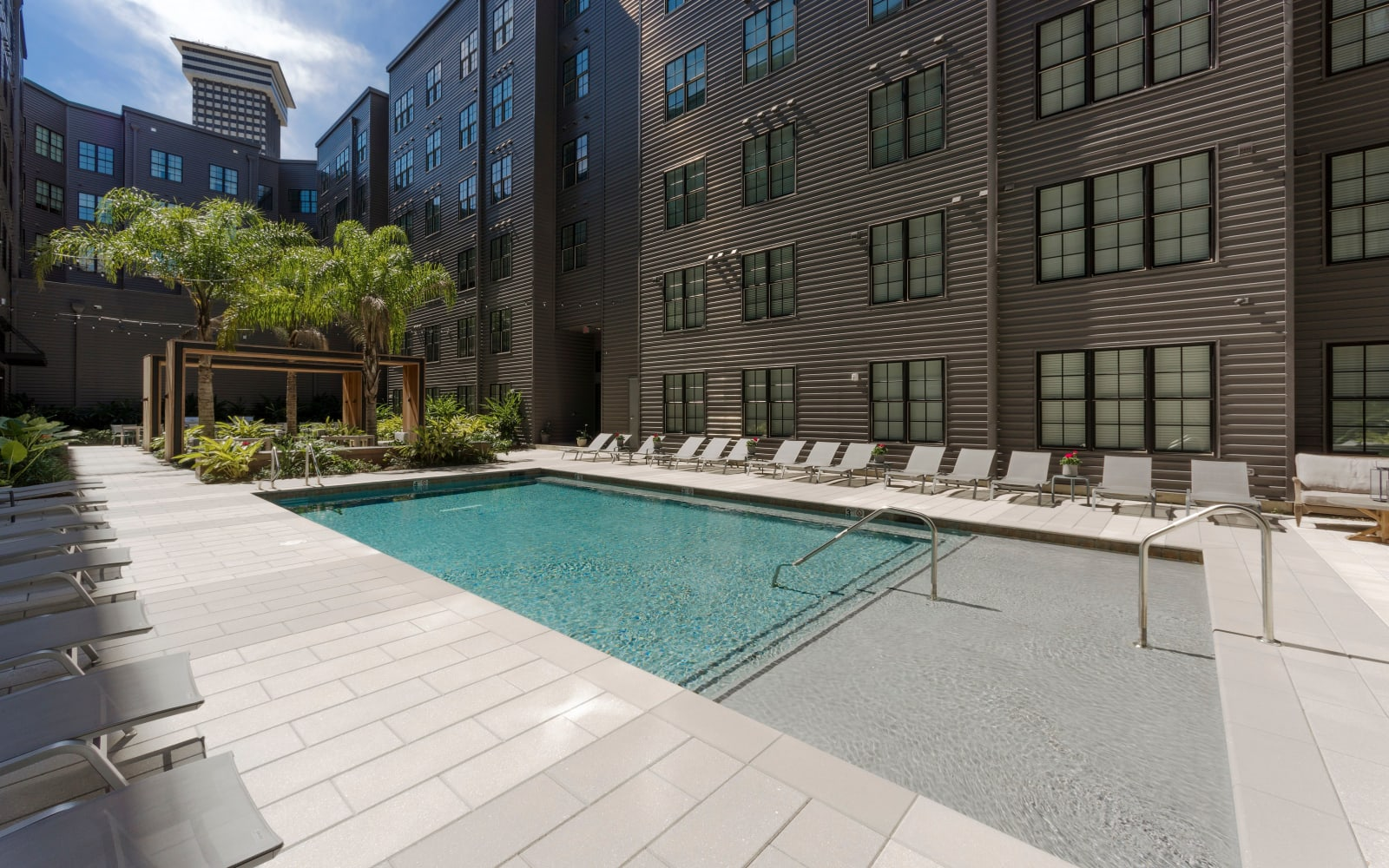 Swimming Pool at The Beacon at South Market in New Orleans, Louisiana