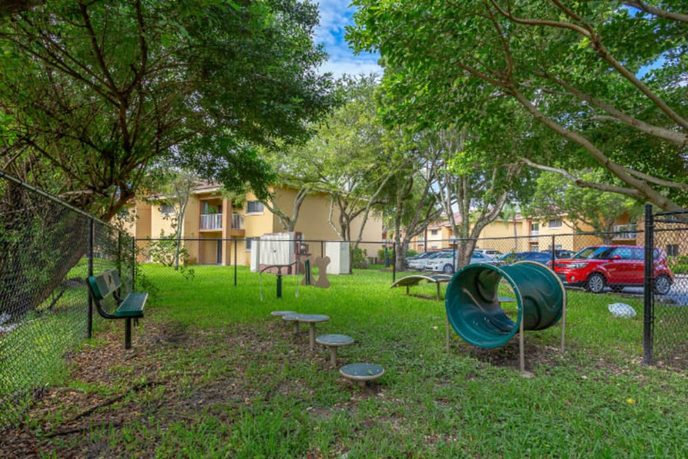 Our Apartments in Hialeah, Florida offer a Dog Park