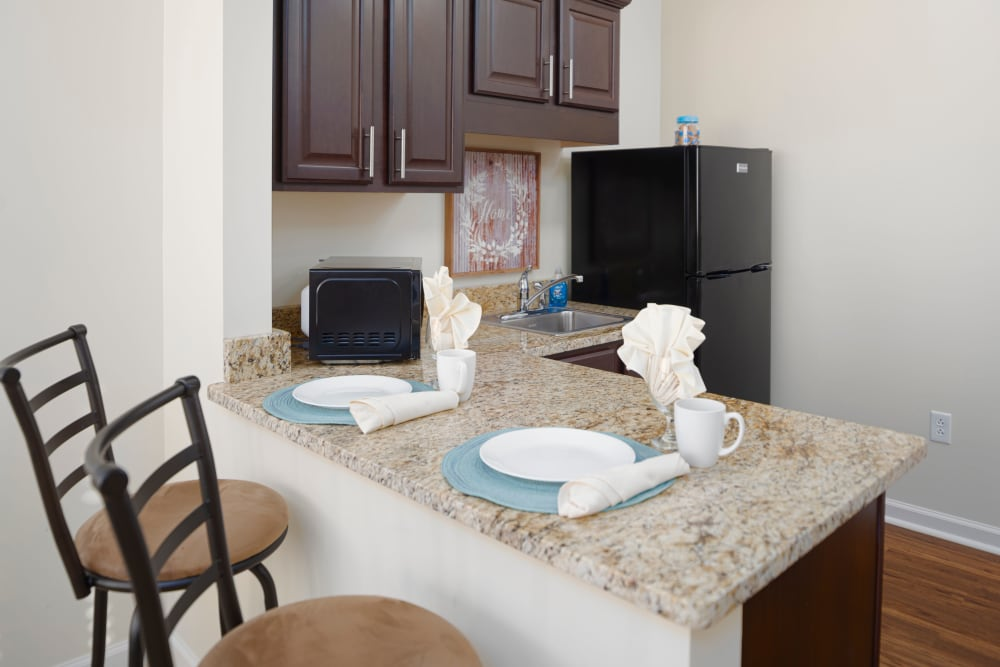 Kitchen at Harmony at Spring Hill in Lorton, Virginia