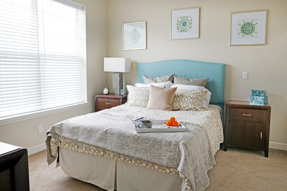 Bedroom at Harmony at White Oaks in Bridgeport, West Virginia